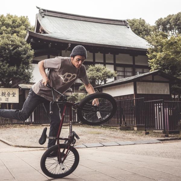 BMX man